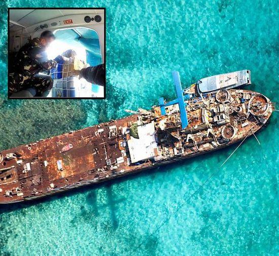 菲称中国派舰船控制五方礁:连美都不放眼里